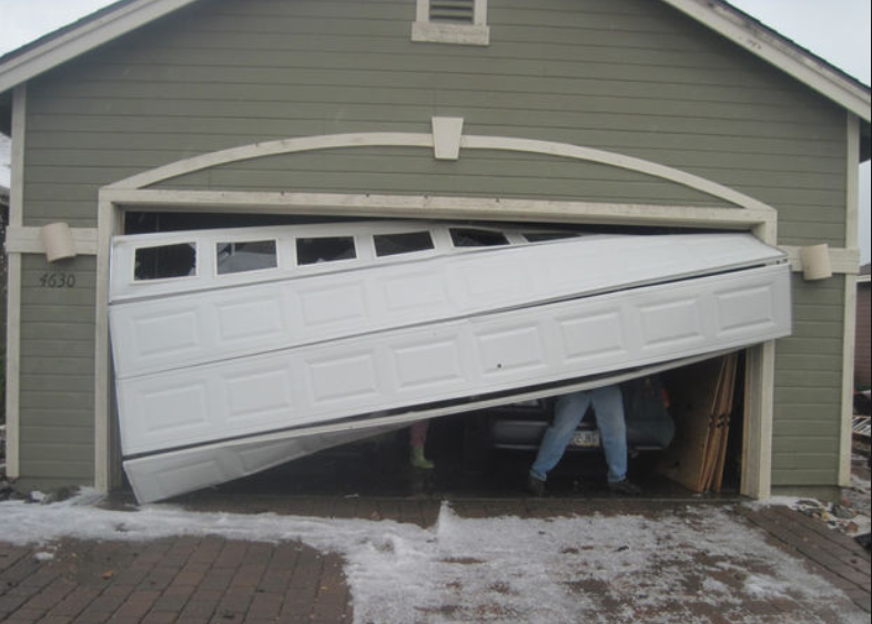 off track garage door repair bakersfield